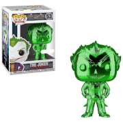 DC Comics Batman Arkham Asylum The Joker Green Chrome EXC Pop! Vinyl Figure