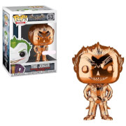 DC Comics Batman Arkham Asylum The Joker Orange Chrome EXC Pop! Vinyl Figure
