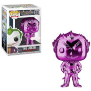 DC Comics Batman Arkham Asylum The Joker Purple Chrome EXC Funko Pop! Vinyl
