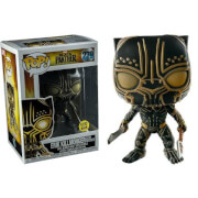 Marvel Black Panther Killmonger Panther GITD EXC Pop! Vinyl Figure