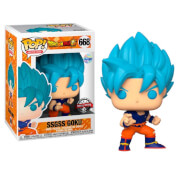Dragon Ball Super SSGSS Goku EXC Funko Pop! Vinyl