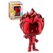 Dragon Ball Vegeta Red Chrome SDCC 2019 EXC Figura Pop! Vinyl