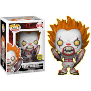 IT Pennywise Spider Legs GITD EXC Pop! Vinyl Figure