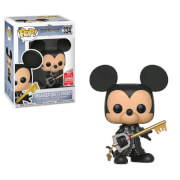 Disney Kingdom Hearts Mickey Unhooded SDCC 2018 EXC Funko Pop! Vinyl
