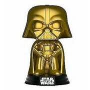 Star Wars Darth Vader Gold Metallic EXC Pop! Vinyl Figure