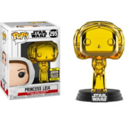 Star Wars Princess Leia Gold Chrome SW19 EXC Funko Pop! Vinyl