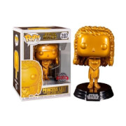 Star Wars Princess Leia Gold Metallic EXC Pop! Vinyl Figure