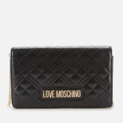 Love Moschino Women's Quilted Chain Bag - Black