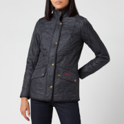 Barbour Women's Classic Beadnell Wax Jacket - Navy