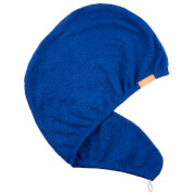 Aquis Classic Stretch Turban - Blue