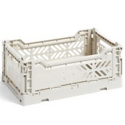 HAY Colour Crate - Light Grey - S