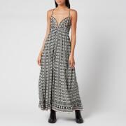 Free People Women's Good Vibes Midi Dress - Black Combo