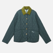 Barbour Heritage Girls' Liddesdale Quilt Jacket - Isle Green/Opal