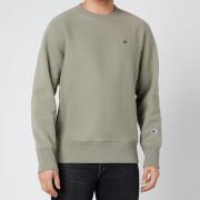 Champion Men's Reverse Weave Crewneck Sweatshirt - Green