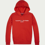 Tommy Hilfiger Boys' Essential Hoody - Deep Crimson