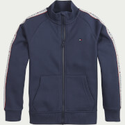 Tommy Hilfiger Boys' Tommy Tape Full Zip Jacket - Twilight Navy