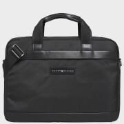 Tommy Hilfiger Men's Uptown Nylon Computer Bag - Black