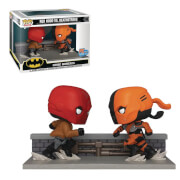 EXC PX Previews SDCC 2020 - DC Cappuccio Rosso contro Deadthstroke - Funko Pop! Comic Moment