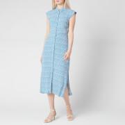 Whistles Women's Astrix Floral Blue Dress - Blue/Multi