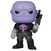 PX Previews Marvel Heroes Punisher Thanos 6-Inch Funko Pop! Vinyl Figure