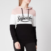 Superdry Women's Colour Block Entry Hoody - Black