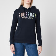 Superdry Women's Rainbow Entry Hoody - Eclipse Navy