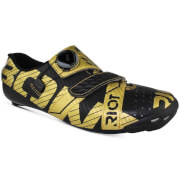 Bont Riot+ Road Shoes - Black/Gold