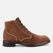Superdry Men's Officer Lace Up Boots - Brown
