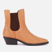 Superdry Women's Western Boots - Tan
