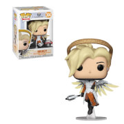BlizzCon Overwatch Diamond Glitter Mercy EXC Funko Pop! Vinyl