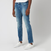 Tommy Jeans Men's Slim Scanton Jeans - Berry Mid Blue