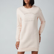 Superdry Women's Established Crew Sweat Dress - Bright Blush