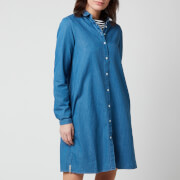 Superdry Women's Classic Preppy Shirt Dress - Chambray Blue