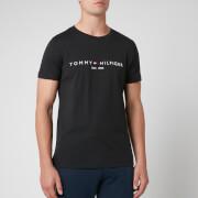 Tommy Hilfiger Men's Tommy Logo T-Shirt - Jet Black