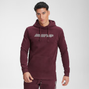 MP Men's Outline Graphic Hoodie - Washed Oxblood