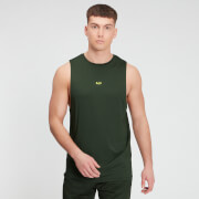 MP Men's Graphic Training Tank - Dark Green
