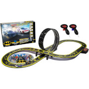Micro Scalextric Batman vs Joker Battery Powered Race Set