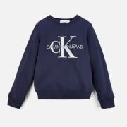 Calvin Klein Monogram Logo Sweatshirt - Peacoat