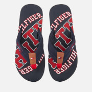 Tommy Hilfiger Men's Simon Essential Beach Toe Post Sandals - Midnight