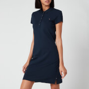 Tommy Hilfiger Women's Heritage Slim Polo Dress - Midnight