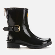 Barbour International Women's Mugello Biker Wellies - Black