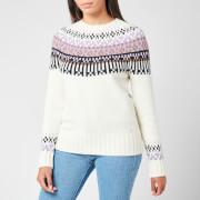 Barbour Women's Wareham Knitted Jumper - Aran