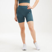 MP Women's Shape Seamless Ultra Cycling Shorts - Deep Sea Blue