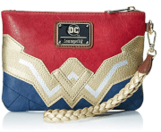 Loungefly DC Comics Wonder Woman Wristlet