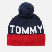 Tommy Jeans Women's Seasonal Lurex Beanie - Corporate