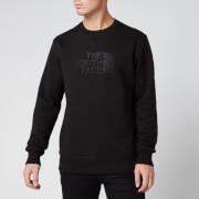The North Face Men's Drew Peak Crew Sweatshirt - TNF Black