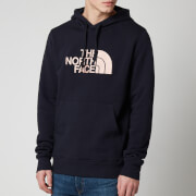 The North Face Men's Drew Peak Pullover Hoodie - Aviator Navy/Pink Clay