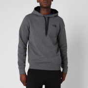The North Face Men's Seasonal Drew Peak Pullover Hoodie - TNF Medium Grey/TNF Black