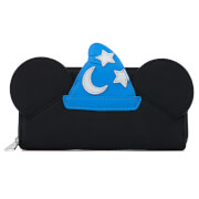 Loungefly Disney Fantasia Sorceror Mickey Cosplay Zip Around Wallet