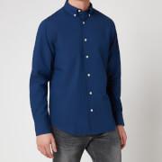 Gant Men's Solid Indigo Shirt - Dark Indigo